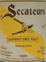 2012 Badenhorst Secateurs Red Blend Swartland South Africa image