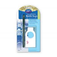 Wine Bottle Tags 20 Count reusable with Pen image