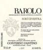 2008 Conterno Fantino Barolo Sori Ginestra - click image for full description