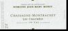 2010 Jean Marc Morey Chassagne Montrachet Chaumees 1er Cru - click image for full description