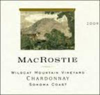 2009 Macrostie Chardonnay Wildcat Mountain Sonoma Coast Vineyard image