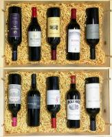 Bordeaux Blends from around the world 10 Pack #18A4 image