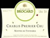 2016 Jean Marc Brocard Chablis Montee de Tonnerre 1er Cru - click image for full description