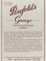 1999 Penfolds Grange Shiraz South Australia image