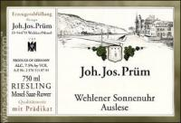 2015 JJ Prum Riesling Wehlenner Sonnenuer Riesling Auslese Magnum image