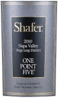 2012 Shafer Cabernet Sauvignon One point Five Stags Leap District Napa image