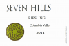 2011 Seven Hills Riesling Columbia Valley - click image for full description
