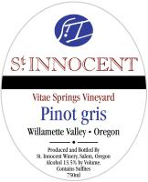 2017 St. Innocent Pinot Gris Vitae Springs image