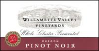 2018 Willamette Valley Vineyards Pinot Noir Whole Cluster image